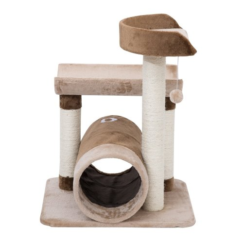 Pawhut Cat Tree Cats Scratcher Furniture Sisal Post Toys Activity Centre Tunnel