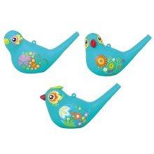 Creative Painting Bird Lovely Whistle Whistle Toys Cyan (Random Style)
