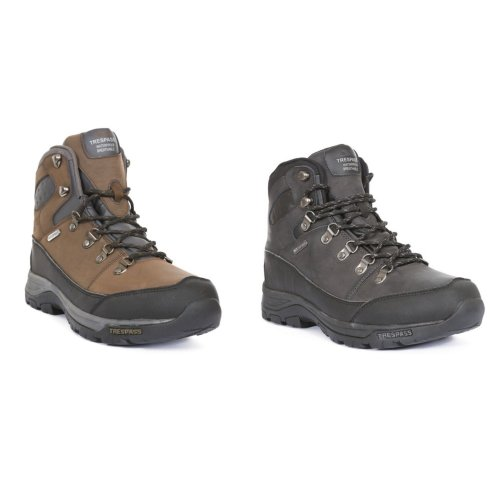Trespass Mens Thorburn Leather Waterproof Hiking Boots
