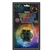 6 Assorted Colour LED Light Up Flashing Shoelaces With Flash Action - Glow Dark -  led shoelaces light up flashing glow dark trainer sneaker