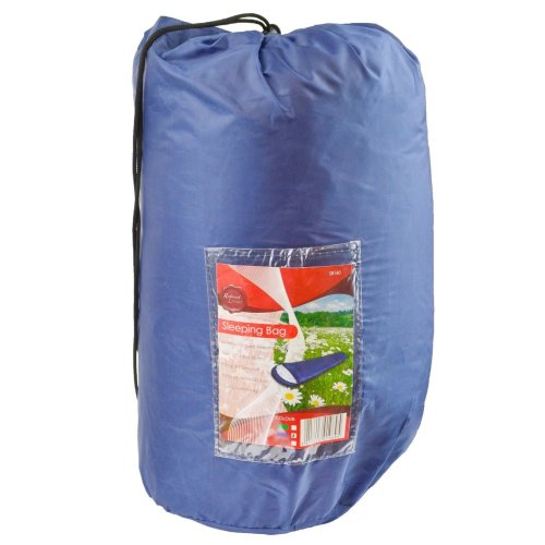Adult 3 Season Mummy Sleeping Bag Camping Summer Festival Blue CMP18