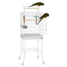 Liberta Gama Bird Cage/Small Parrot White