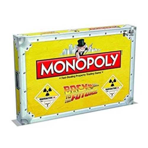 Back to the Future Monopoly Family Board Game Brand New Sealed