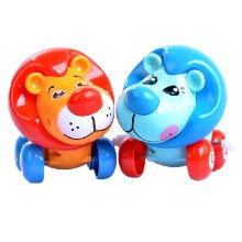Set of 2 Cute Animals Wind-up Toy for Baby/Toddler/kids, Lion(Color Random)
