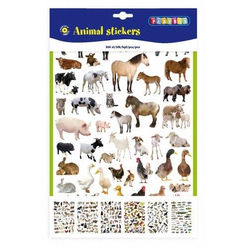 PBX2471082 - Playbox - Animal Stickers 300 Pcs