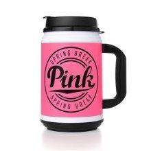 Victoria's Secret Pink Nation Chug Mug PINK