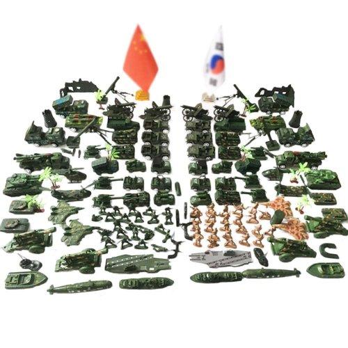 Soldier Scene Models Little Soldier Car Models Children's Toy Gifts - G