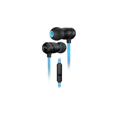 ROCCAT Aluma Binaural In-ear Black, Blue headset