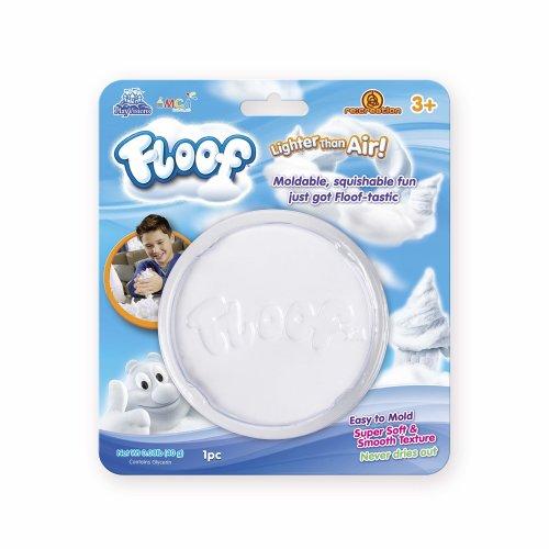 Floof FL001 Tub on a Card 40g, White