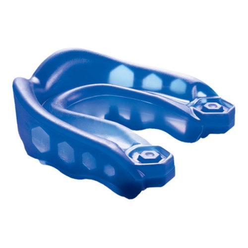 Shock Doctor Gel Max Mouthguard Blue - Adult - Mouth Gum Shield -  shock doctor gel max mouth mouthguard gum shield blue