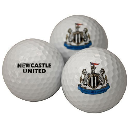 Newcastle United Fc Golf Balls - Football Official Licensed Product 3 Pack -  golf newcastle united balls football fc official licensed product 3 pack