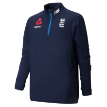 New Balance ECB England Cricket 1/4 Zip Training Top