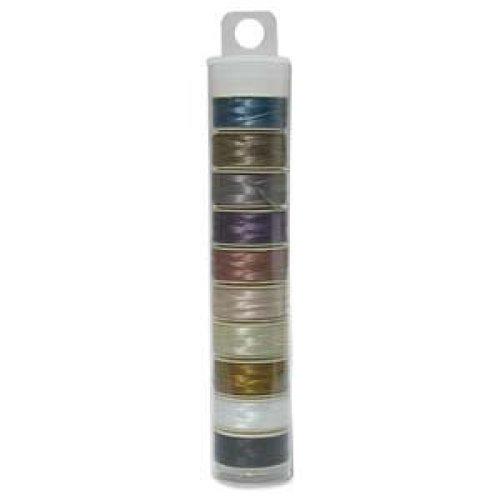 Nymo Beading Thread Bobbin Size D MIX 1 Pack42594