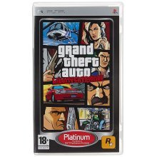 Grand Theft Auto Liberty City Stories Platinum Edition Sony PSP Game
