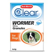 Bob Martin Clear Wormer Granules for Dogs | Dog Wormer Granules