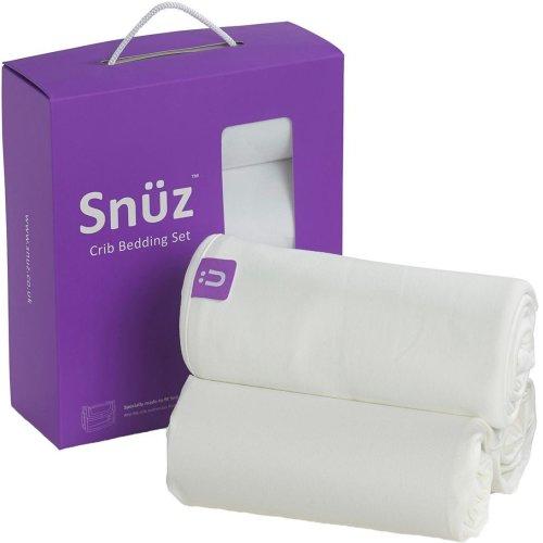 Snuz 3-Piece Bedding Set - White
