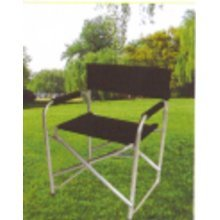 Redwood Bb-fc108b Aluminium Directors Chair -  chair directors black aluminium garden lightweight camping padded arms redwood bbfc108 foldable seat