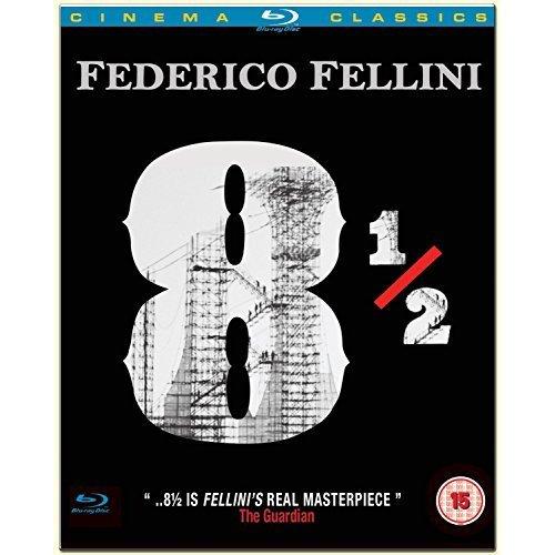 Federico Fellini 8 1/2 [Blu-ray] [DVD]