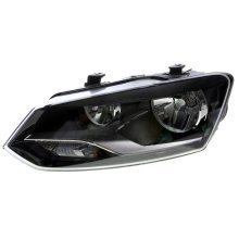 Volkswagen Polo Mk5 10/2009-> Headlight Headlamp Passenger Side N/s