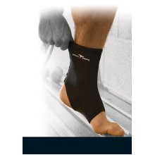 Large Neoprene Ankle Support - Precision Training Blackred -  precision training neoprene ankle support blackred large