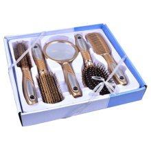 Premium Durable Hair Comb Afro Pick Anti-static Combs Anti-Static,5 PCS,Golden