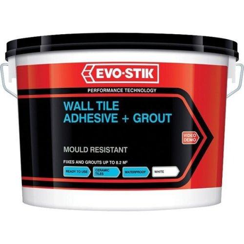 Evo-Stik Wall Tile Adhesive & Grout 500ml - White