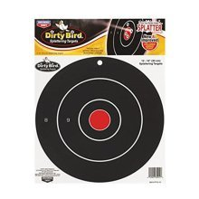 Birchwood Casey Dirty Bird Target 12-Inch Bulls Eye (12Pack)