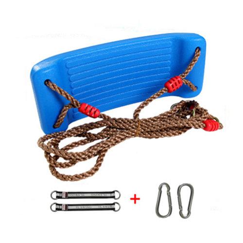 2-in-1 Snug 'n Secure Swing - Holds 331 Lbs Adjustable Hanging Ropes,#B