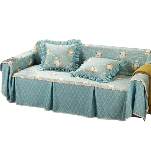 3 Seat Sofa Slipcover Elegant Couch Cover Furniture Protector #07