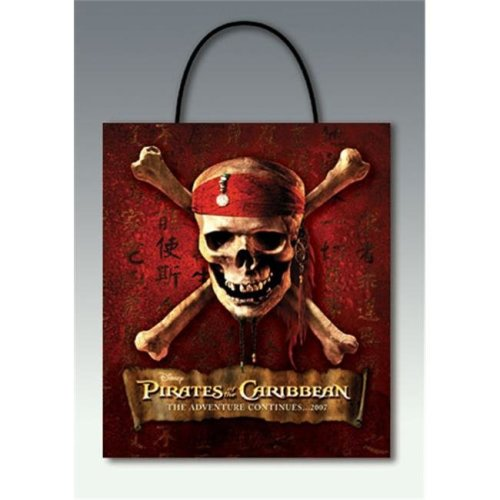 Costumes For All Occasions Dg18758 Pirate Carr Treat Bag 241 Web