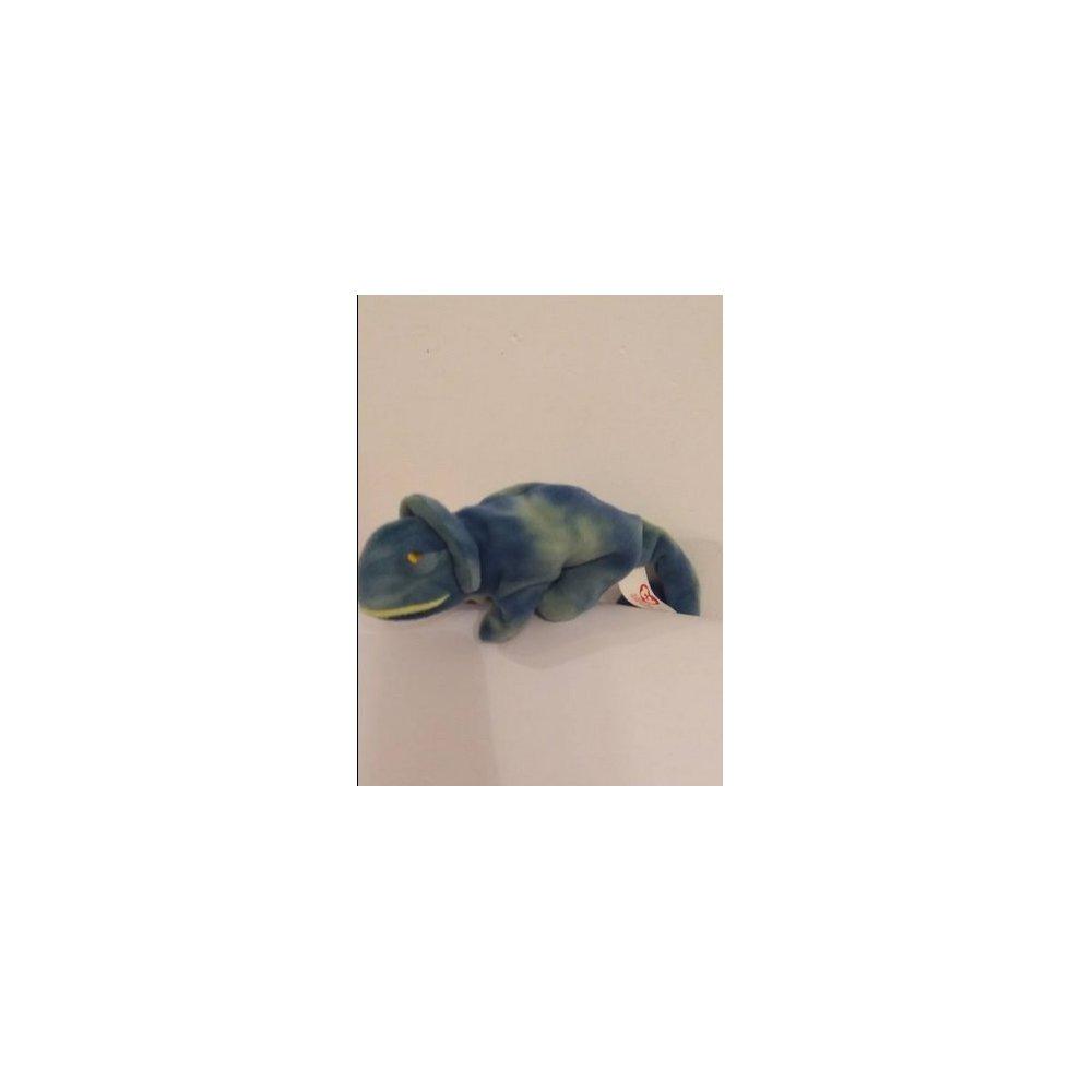 bb6e767f021 ... Rainbow the Chameleon - Ty Beanie Baby (Blue) - 1.