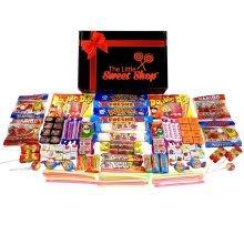 The Little Sweet Shop Retro Sweets Mighty Treasure Box Gift Hamper Providing a Nostalgic Sugar Rush Classic Treats
