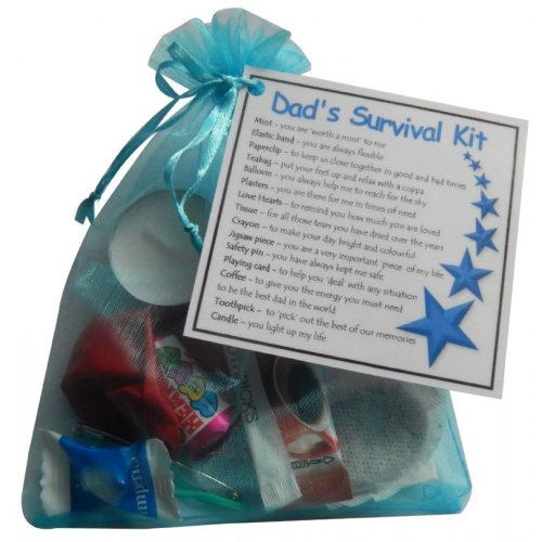 Dad's Survival Kit Gift - Great present for Birthday, Christmas or just because ...
