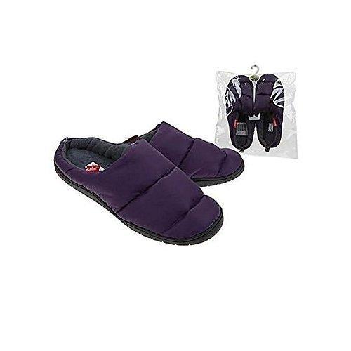 Summit Camping Slippers (purple, Medium)