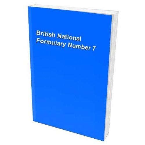 British National Formulary Number 7