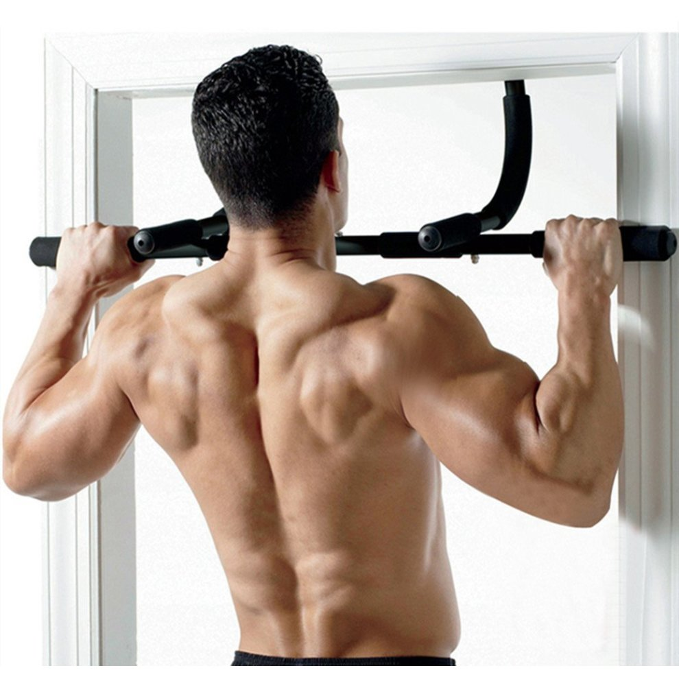 b904506f1e8 ... IREALIST Fitness Multi Gym Upper Body Workout Bar 3-In-1 - Pull- ...