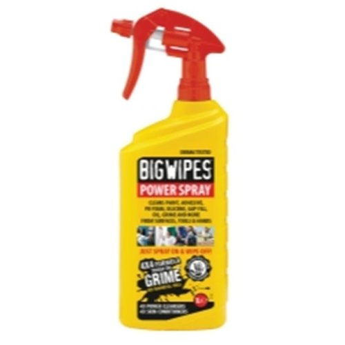 Big Wipes 6002 0009 32 oz Bottle Big Wipes Power Spray - Case of 8