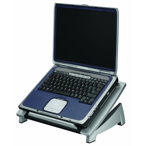 Fellowes Laptop Riser Notebook Stand - Black/Silver