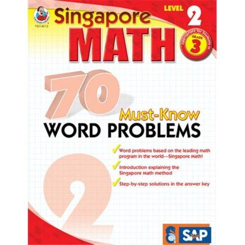 Frank Schaffer Publications FS-014012 70 Must Know Word Problems Level 2 Gr 3