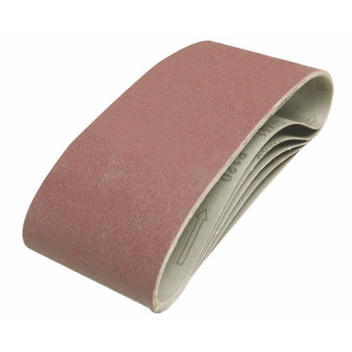 VEWERK 25pc Mixed Grit Sanding Belts 75 X 533MM 60 80 100 120 Grit
