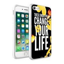 i-Tronixs - Emoji Change your Life Design Printed Case Skin Cover - 066