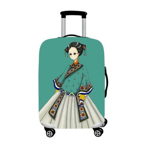 Fashion Travel Luggage Protector Suitcase Suits for 22-24 Inch Luggage