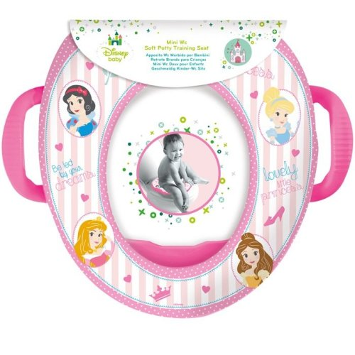 Disney Toilet Trainer Seat with Handles Princess