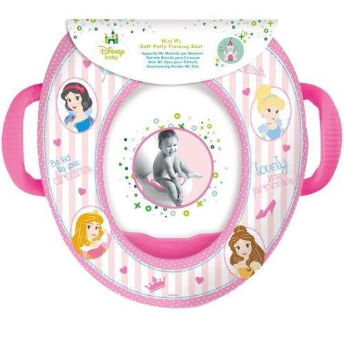 Disney Toilet Trainer Seat with Handles Princess