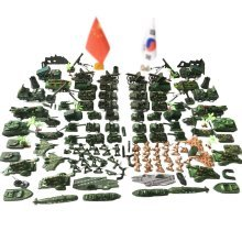 Soldier Scene Models Little Soldier Car Models Children's Toy Gifts - G