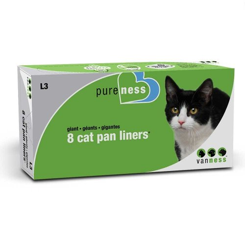 Kennelpak Limited Van Ness Giant Litter Pan Liners (Pack Of 8)