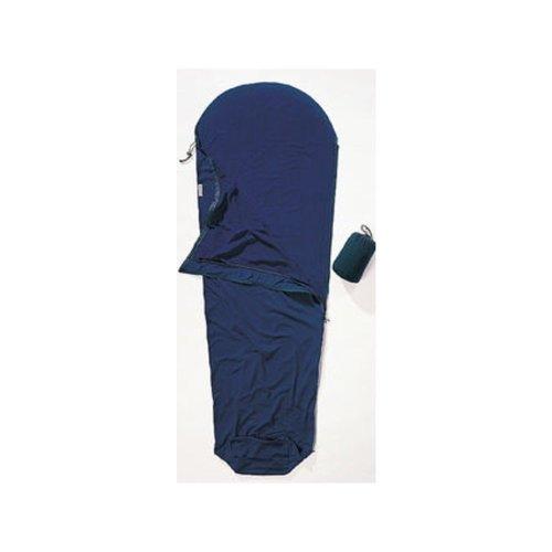 Cocoon Microfleece Mummy Liners Sleeping Bag Left Zip (Dark Petrol)