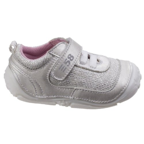 Hush Puppies Childrens/Girls Livvy Touch Fastening Leather Shoes
