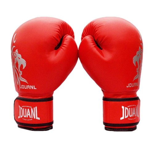 Adult Boxing Gloves - High Protective Gloves Assaults  2 ---- Red