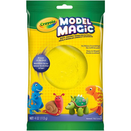 Crayola Model Magic 4oz-Yellow